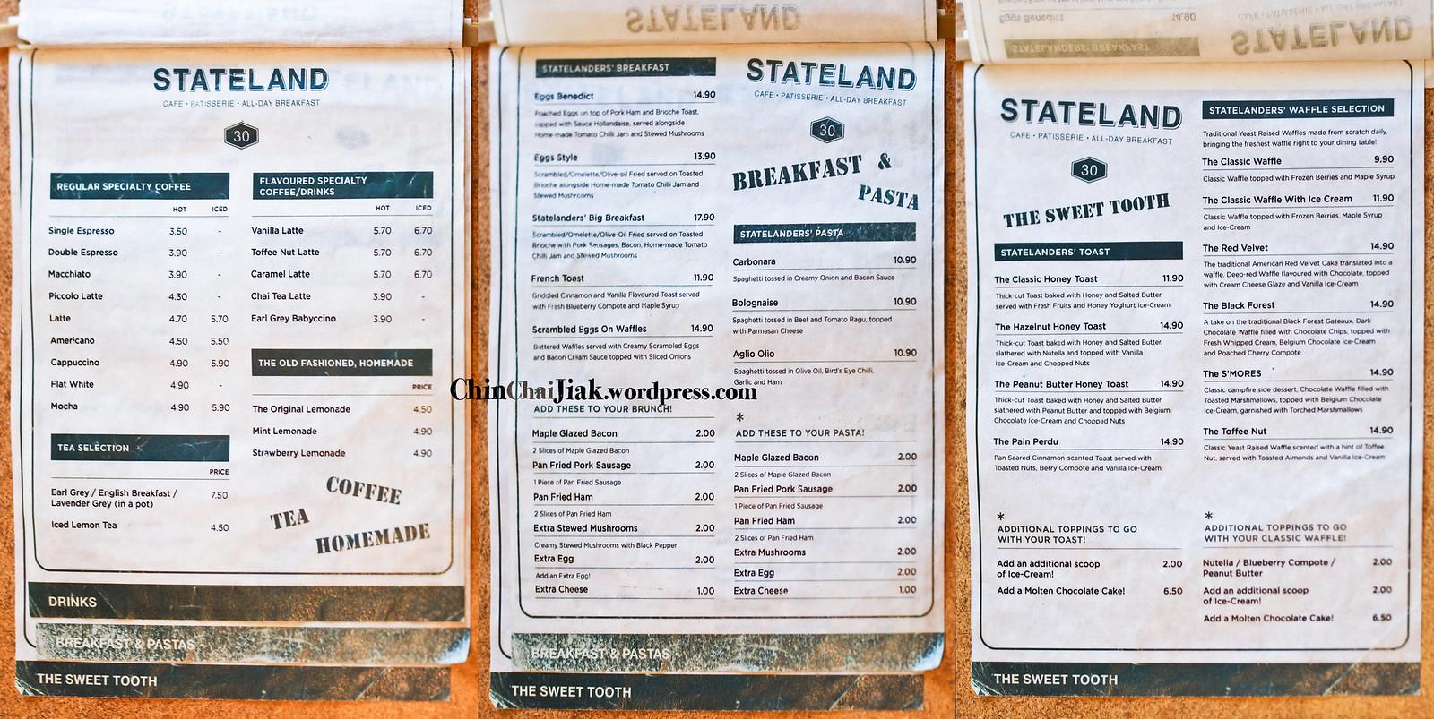 Stateland Cafe at Bali Lane (Bugis) | Chin Chai Jiak