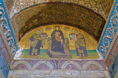 Hagia Sophia mosaic