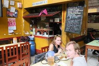 Market food, Huraz, Peru.