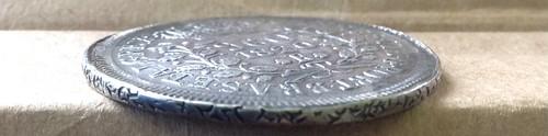 Brazil 1820R 960 Reis edge3