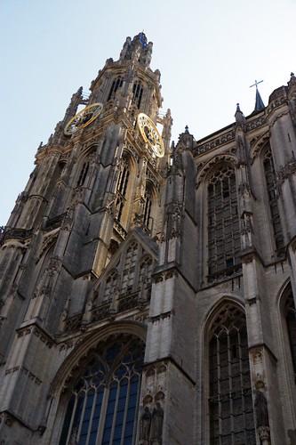 La cattedrale vista dall'esterno