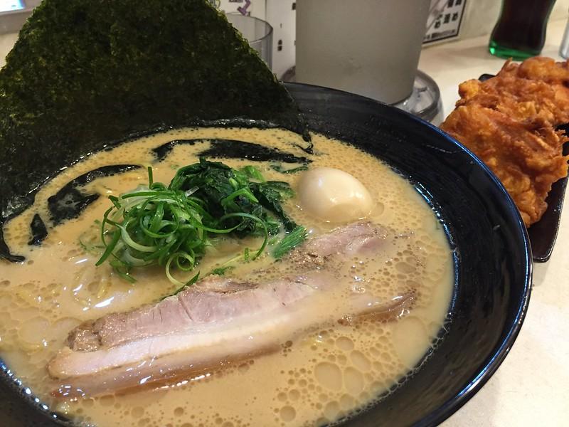 黃金蛋豚骨醬油拉麵, 特濃屋, 台北
