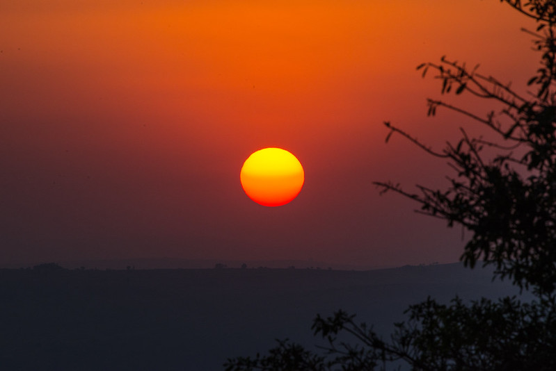 Ithala Game Reserve Sunset