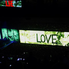 #U2 #U2ieTour  #Love v. #Lie #lategram  #NYC #MSG