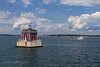 New London Ledge Light by jeffcutler