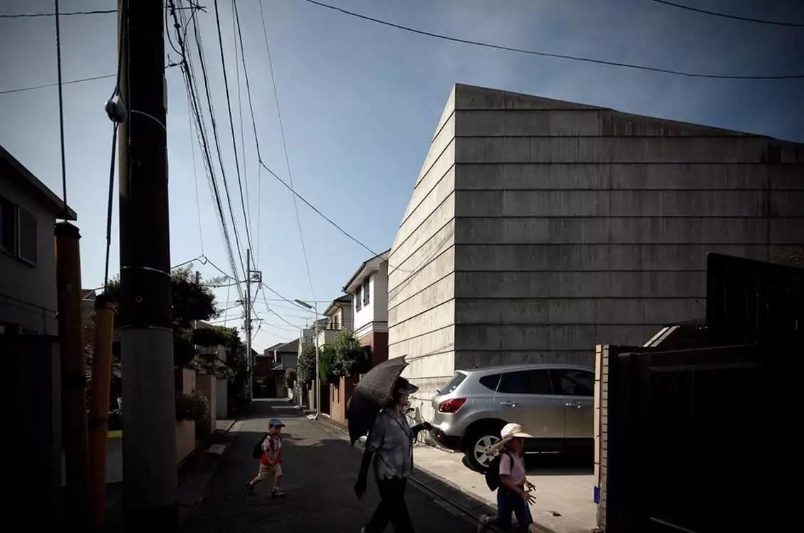 住宅密度大於高度,東京建築「怪宅」林立13