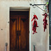 Lauria - Red peppers & door