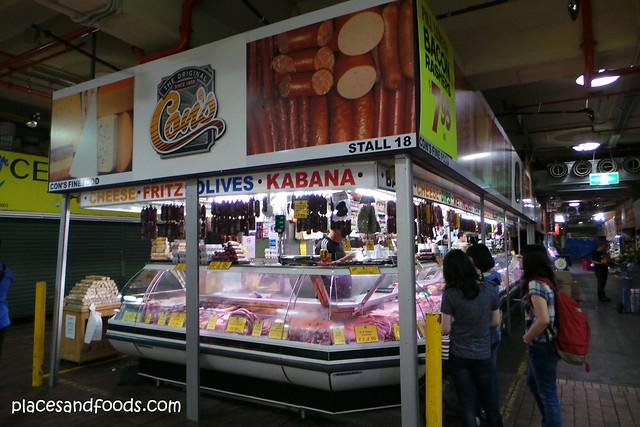 adelaide central market meat stalls