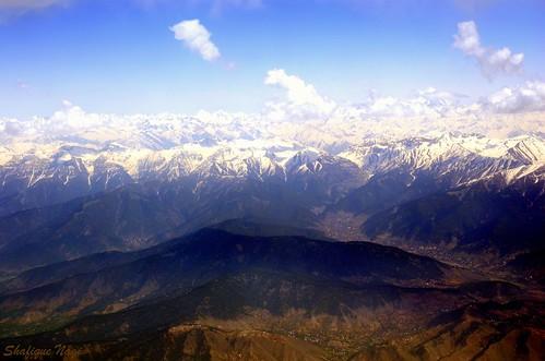 landscape zabarwan hills kashmir