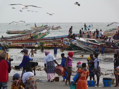 Mercado de Tanji (Gambia)