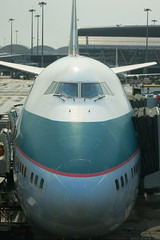 Cathay Pacific B747