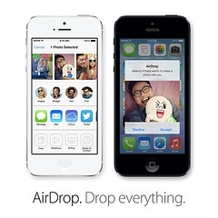 I love AirDrop... But, I wish I can airdrop the files from my Mac to iPhone too...