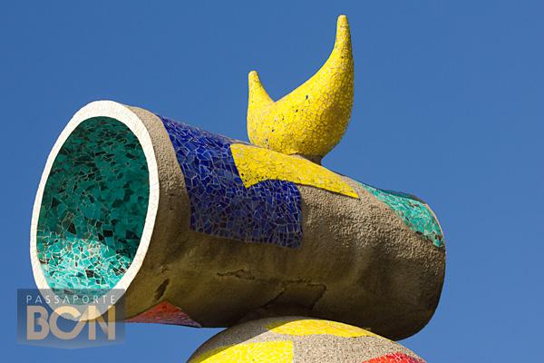 Dona i Ocell, Parc Joan Miró, Barcelona