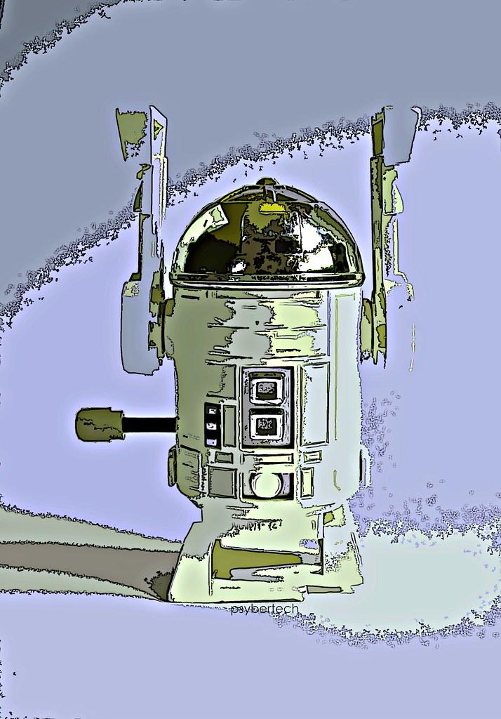 psybertech's Star Wars Figures Artwork Limelight 9051026696_2d0955930c_b