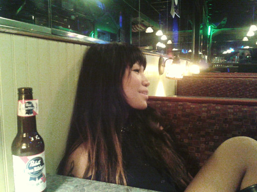 Ana & a PBR (2)(May 17 2013)