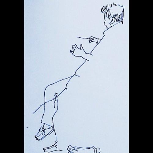 Frank Shipwey ensaiando a Osesp by Dalton de Luca