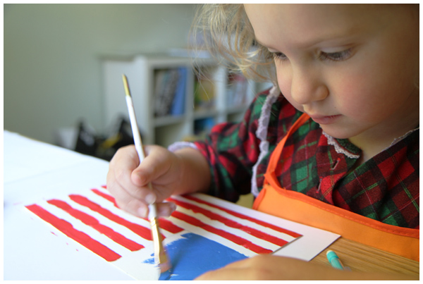 American Flag Painting Projects The Creative Salad