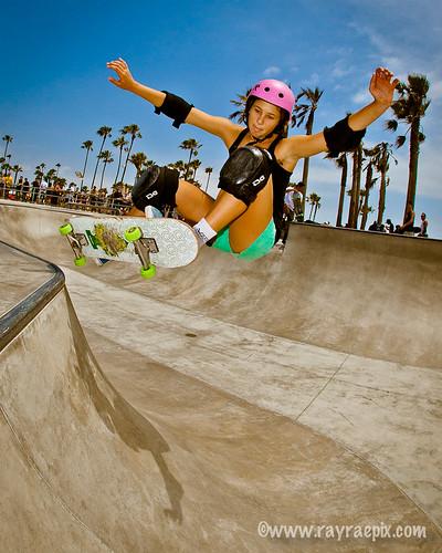 Venice Skate Park, Lizzie Armanto 6-23-13