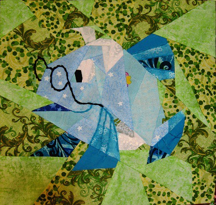 Disney Mystery Quilt, Block 5, The Wise Fish
