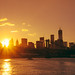 New York City - Summer Sunset by Vivienne Gucwa