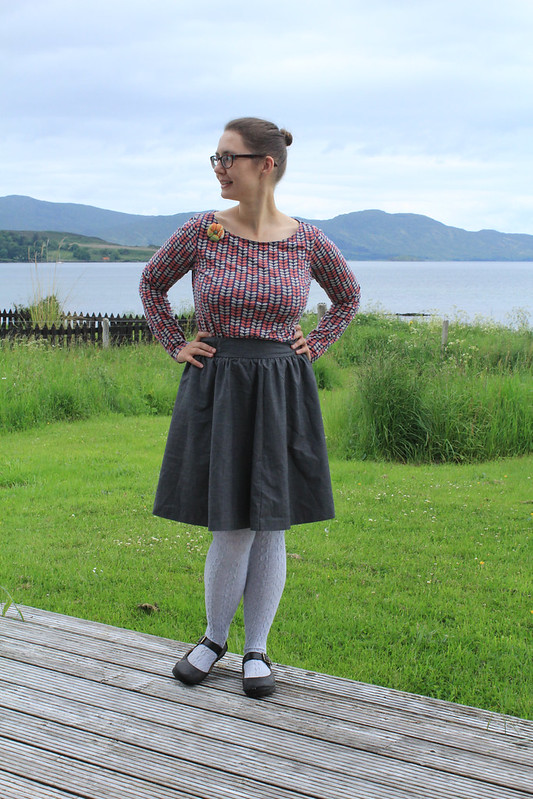 orla keily and a circle skirt