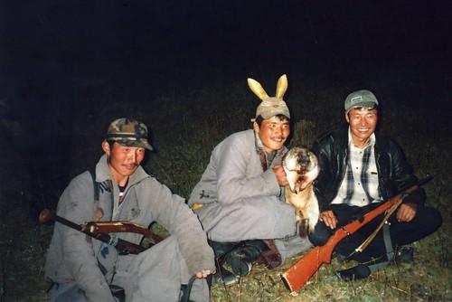 Mongolia woodchuks hunters - Mongolie, chasseurs de marmottes