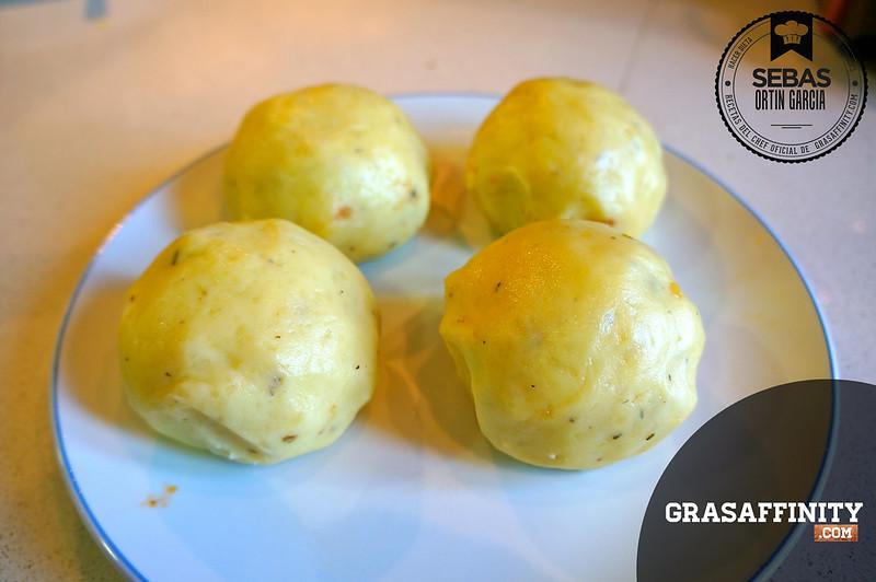 Cómo hacer patatas rellenas de carne picada
