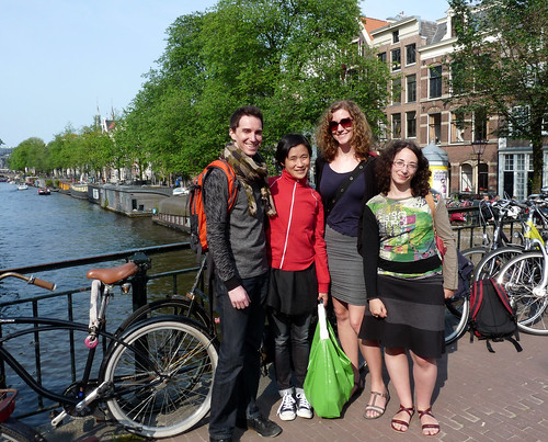 amsterdam group photo
