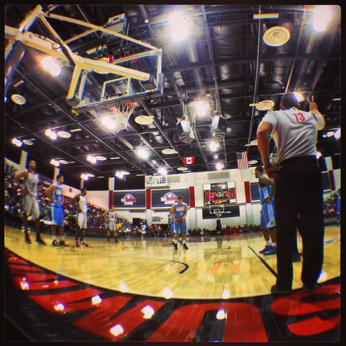 Shooting Two - 2013 NBA Summer League