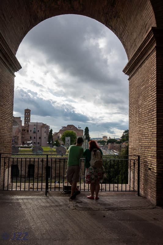 view from Colosseum