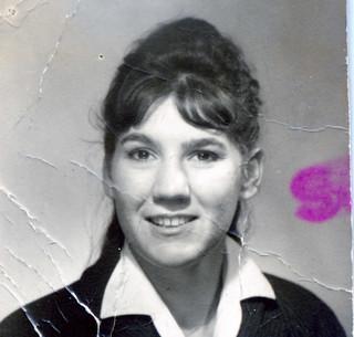 Nellie Granade, étudiante des années 1960, Lyon
