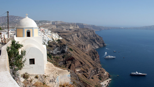 Day-walk from Fira to Oia