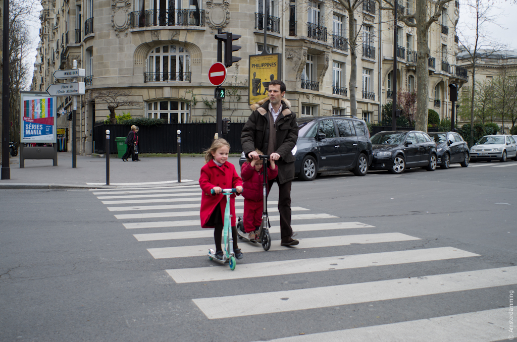 Paris, Family Time