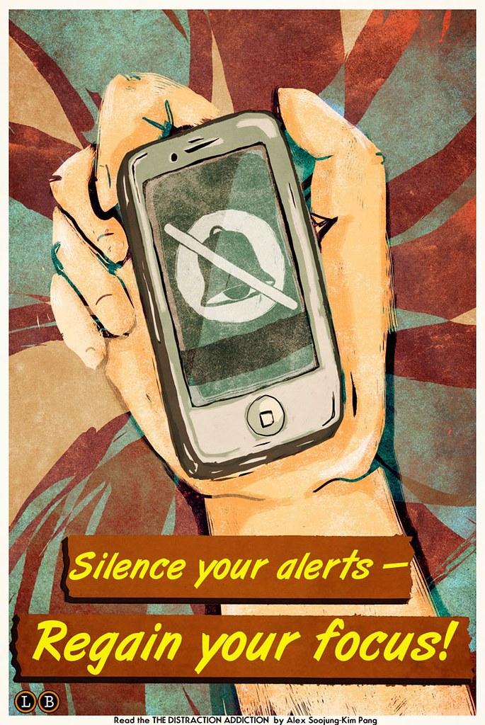 Silence your phone-- Regain your focus!