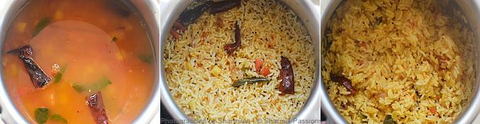 Arisi Paruppu Sadam Recipe - Step3