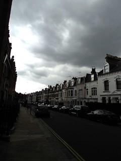 Under a London sky