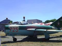 Mig-15 terepszínű verzió