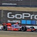 Sebastien Bourdais drives through the backstretch esses during practice at Sonoma Raceway