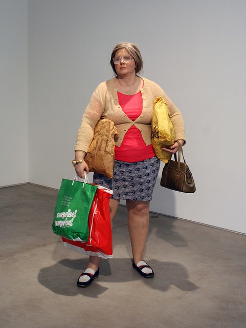 Duane Hanson, Young Shopper, 1974