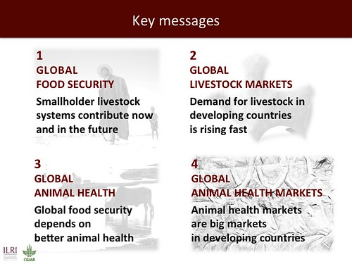 Global health and sustainable food security: Key messages