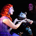 Anush Hovhannisyan as the Princess with puppeteer Sara Henriques in El gato con botas © ROH / Catherine Ashmore 2013