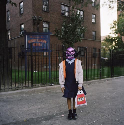 Amy Stein, Untitled (Purple Skull)