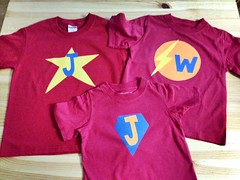 Super hero shirts