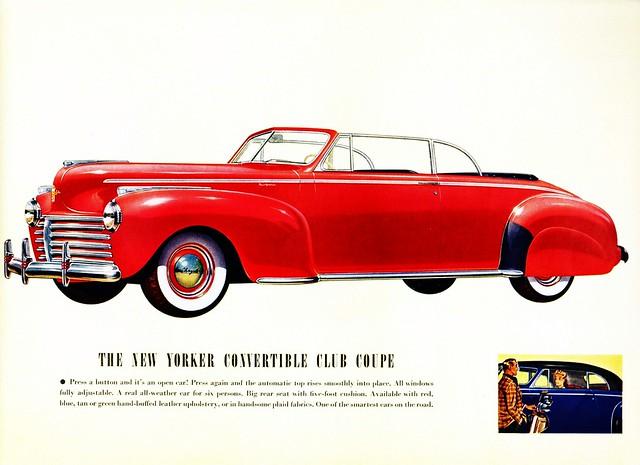 1941 Chrysler New Yorker Convertible