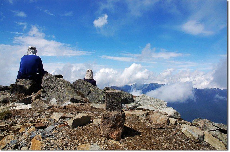 馬博拉斯山森林三角點(Elev. 3765 m) 2
