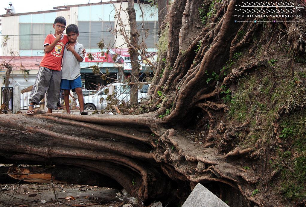 Madridejos Town Plaza, Bantayan Island, Cebu, Yolanda Haiyan