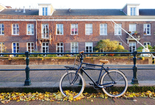 Amsterdam black bike