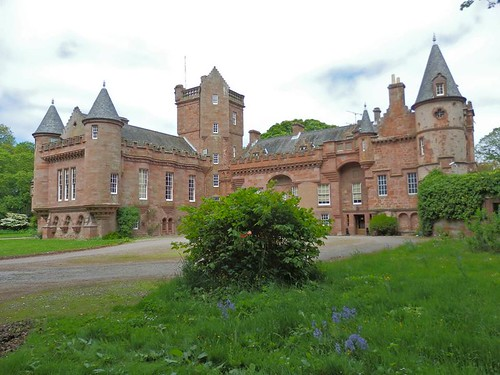 Hospitalfield from the south east