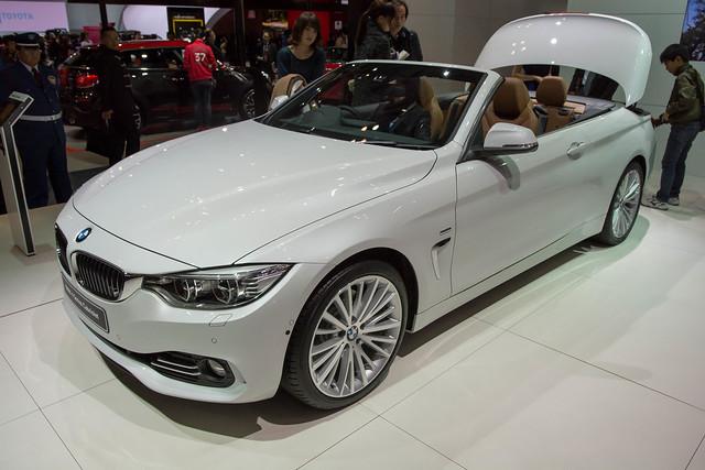 BMW 4シリーズ カブリオレ(ワールドプレミア)