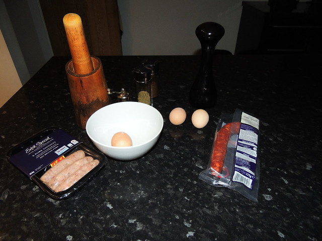 Scotch egg ingredients